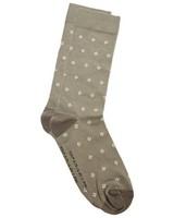 Tread & Miller Diamond Sock -  olive-oatmeal