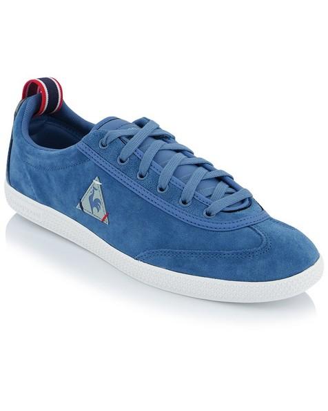 le coq Provencale II Low Suede Shoe (Mens) -  teal