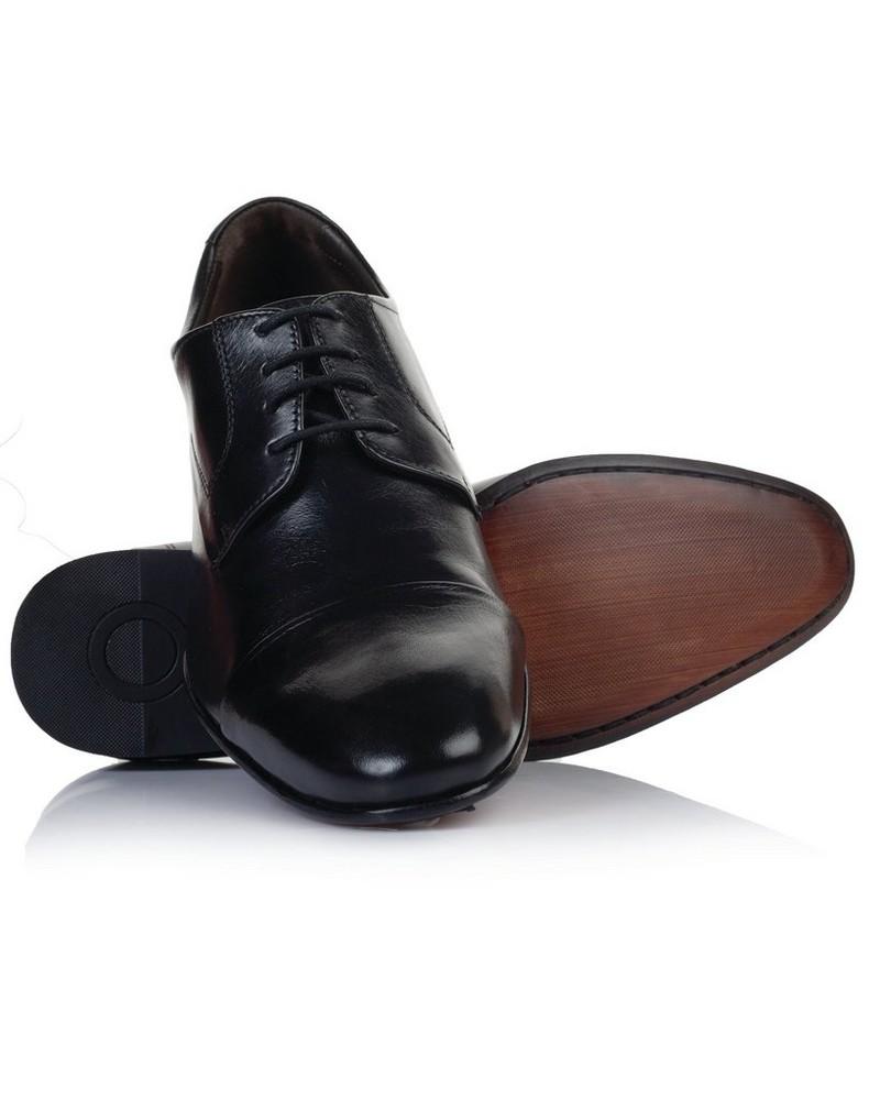 Democrata Men's Caster Shoe  -  black