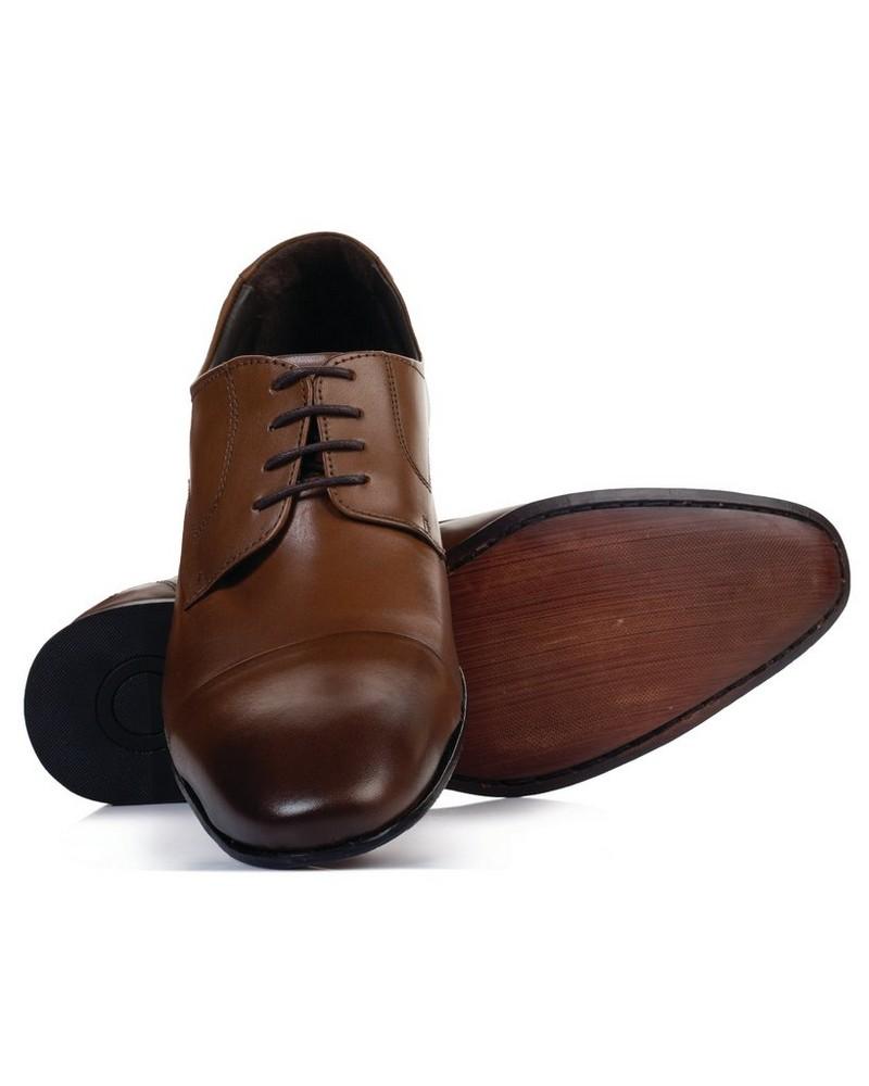 Democrata Men's Caster Shoe  -  tan