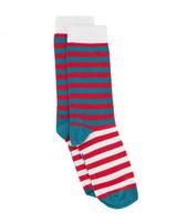 Tread & Miller Tinkle Toes Sock -  lightgrey-assorted