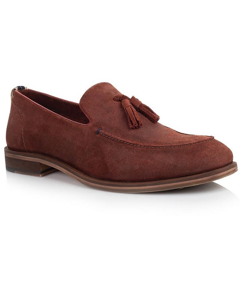 Arthur Jack Men's Ledger Shoe -  burgundy
