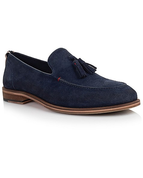 Arthur Jack Men's Ledger Shoe -  navy