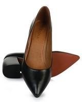 GIANNA Ladies Core Block Heel  -  black