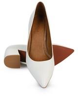 GIANNA Ladies Core Block Heel  -  white