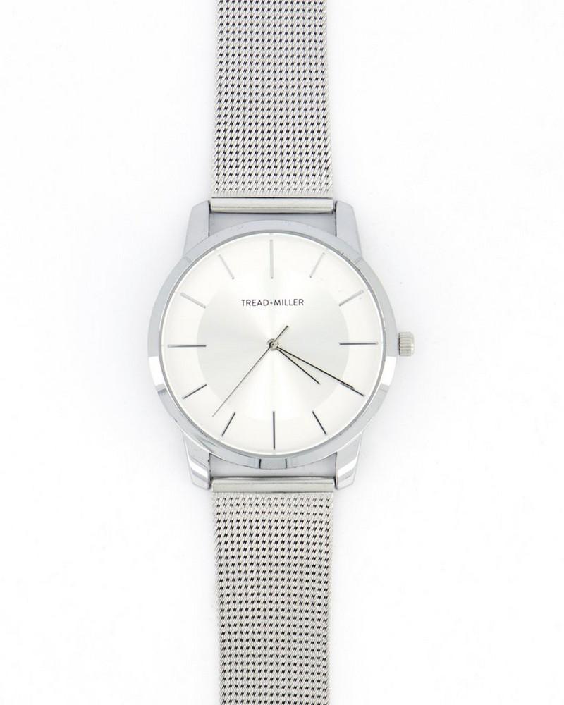 Tread & Miller Rufus Watch -  silver-silver
