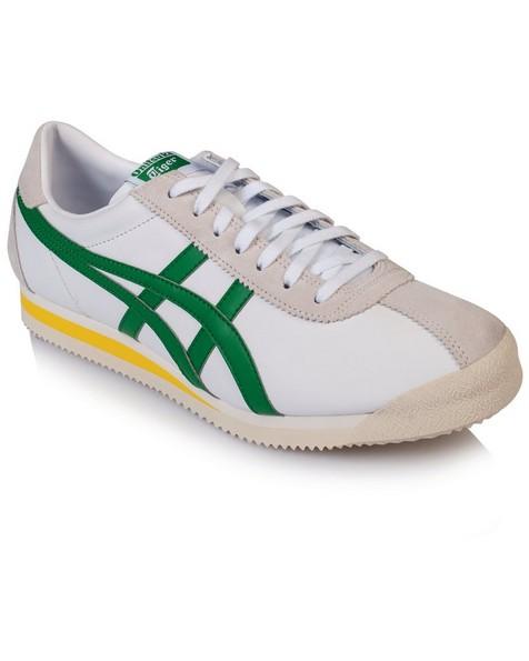 Onitsuka Tiger Men's Corsair Sneaker -  white-green