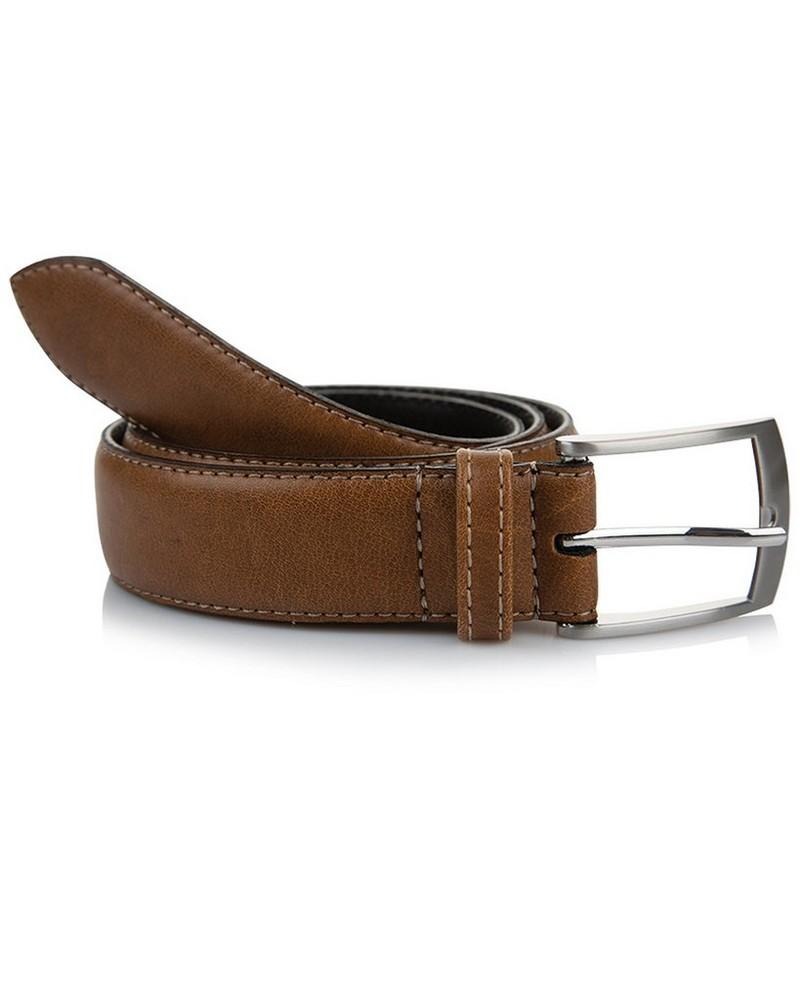 Arthur Jack Harper Leather Belt -  tan-tan