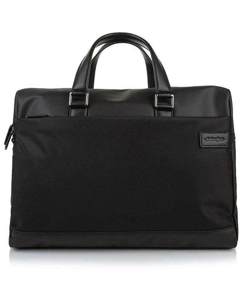 Arthur Jack Mendez Messenger Bag -  black-black