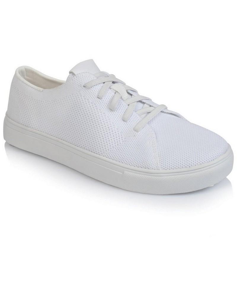 Rare Earth Ladies Loren Sneaker -  white