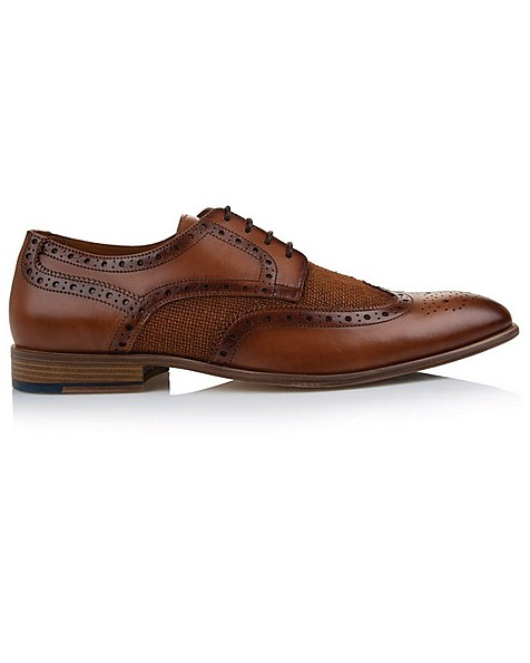 Arthur Jack Men's Hugo Shoe  -  tan