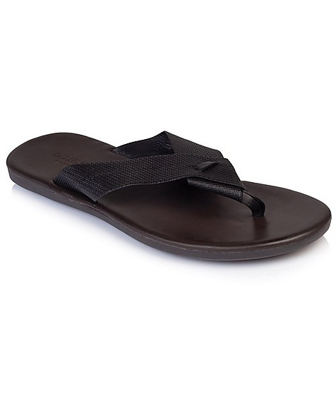 Democrata Men's Zion Sandal -  black