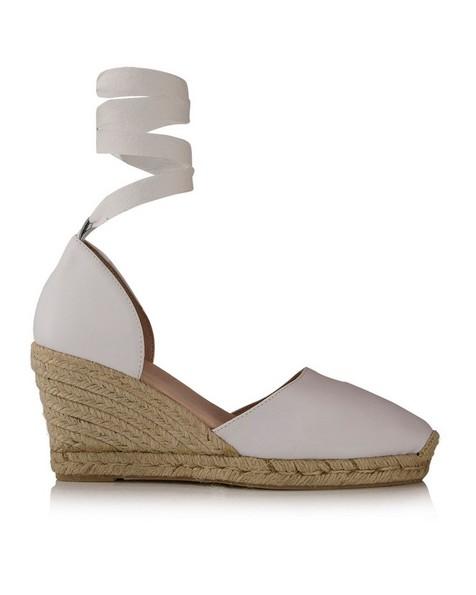 Rare Earth Chiara Wedge Heel -  white