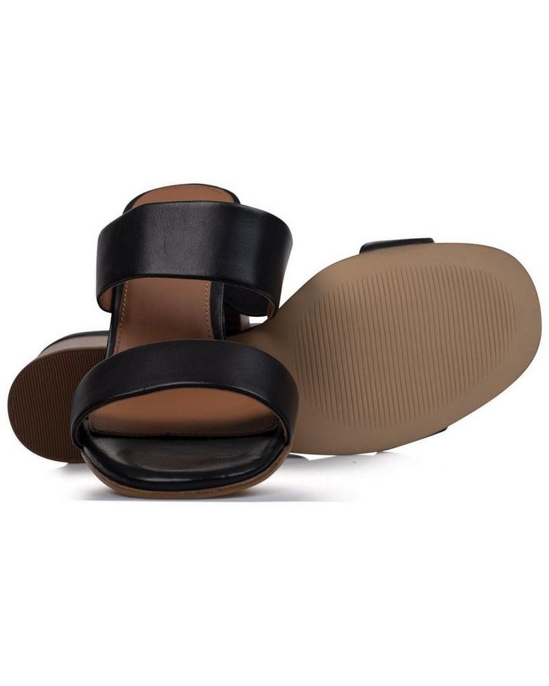 Rare Earth Ladies Kelsi Sandal -  black