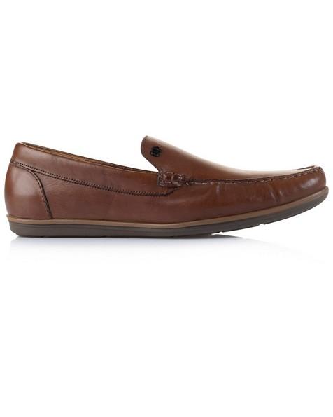 Democrata Men's Tag Shoe -  tan