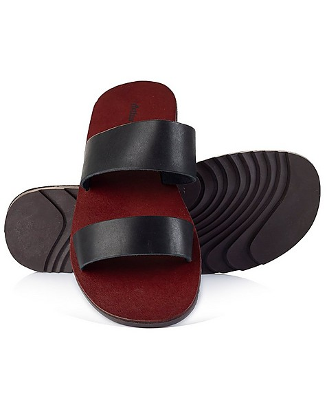 Arthur Jack Men's Rowan 2.0 Sandal -  black