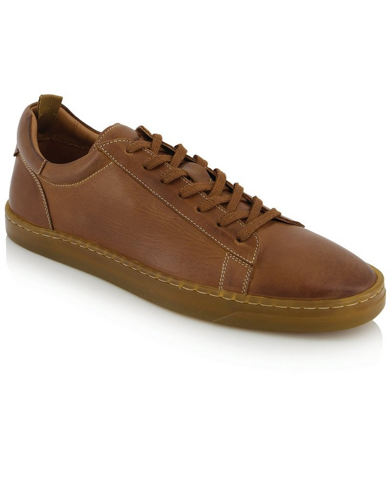 Arthur Jack Men's Stark 2.0 Sneaker  -  tan-tan
