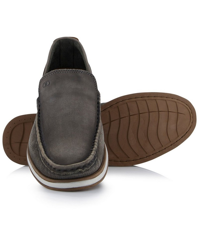 Democrata Flow Men's Shoe  -  grey