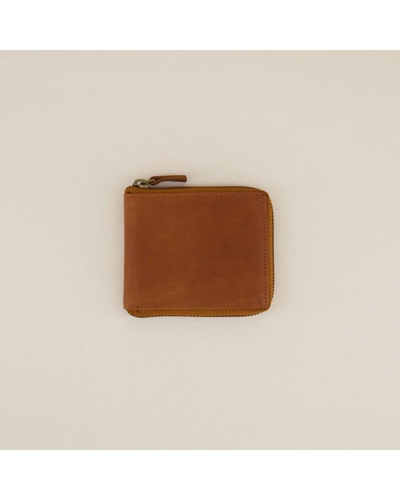 Arthur Jack Men's Noah Zip-Around Wallet -  tan