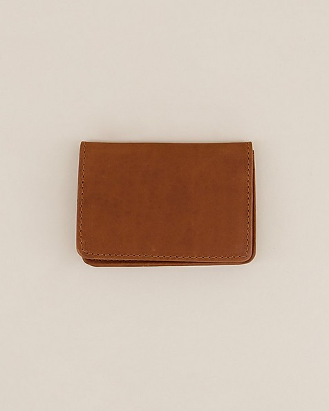 Tread & Miller Liam Card Holder -  tan