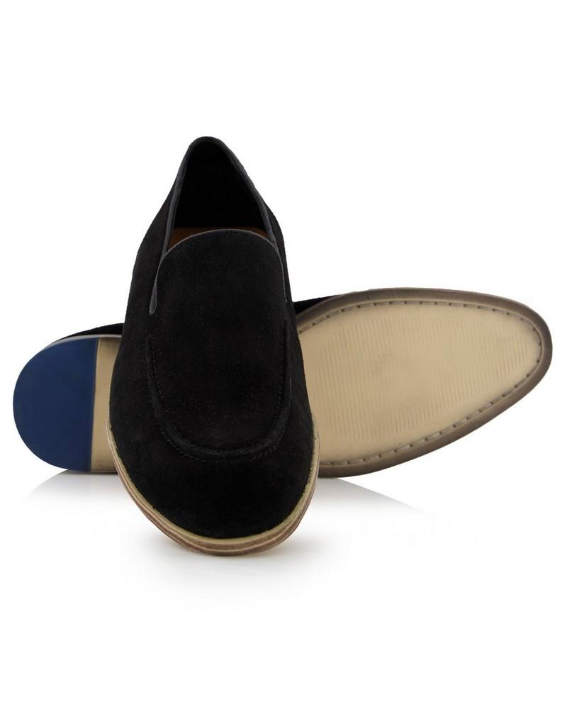 Arthur Jack Dustin Shoe  -  black
