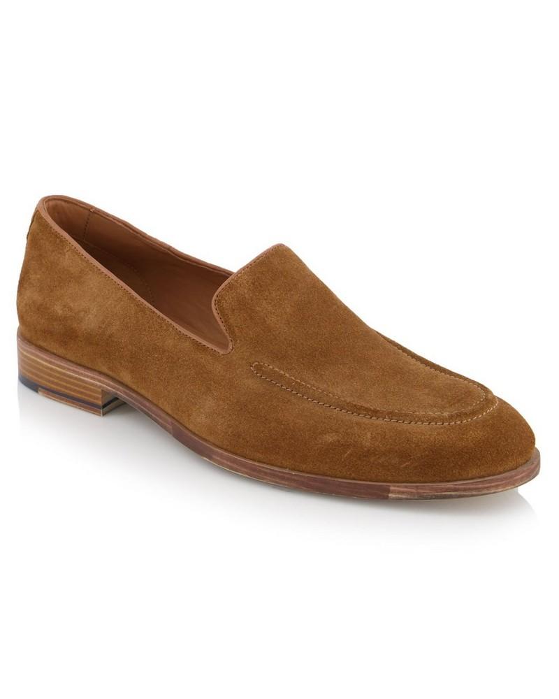 Arthur Jack Dustin Shoe  -  tan