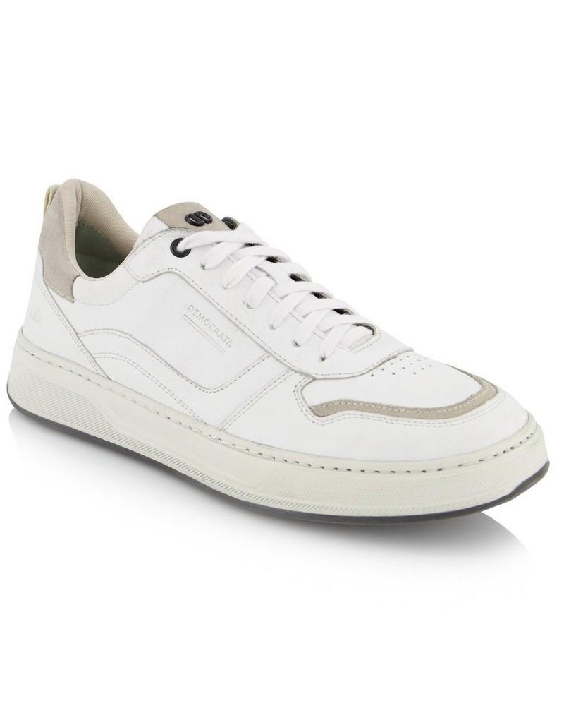Democrata Bold Sneaker  -  white