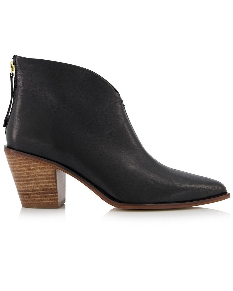 Zoe Ladies Boot  -  black