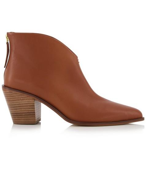 Zoe Ladies Boot  -  tan